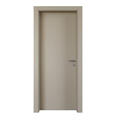 Porta da interno battente Cinder grigio 70 x H 210 cm sx