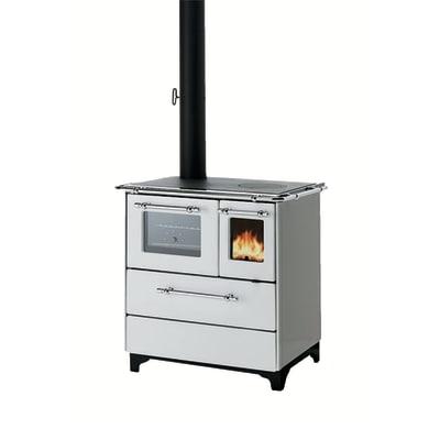 Cucina a legna betty 35 bianco prezzi e offerte online - Aerazione gas cucina ...