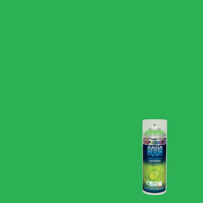 Smalto spray Aqua verde giallo RAL 6018 Lucido 350 ml
