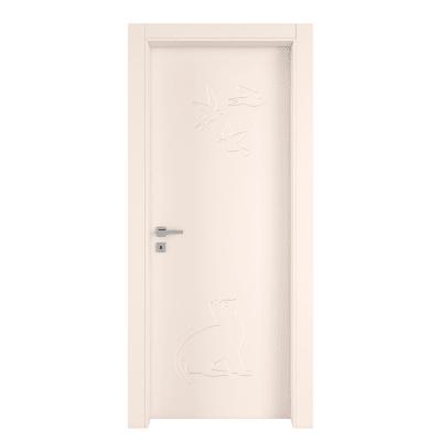 Porta da interno battente Catbird crema 90 x H 210 cm dx
