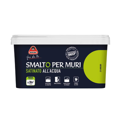 Smalto murale avocado 2,5 L Boero