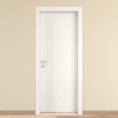Porta da interno battente Snake 70 x H 210 cm reversibile