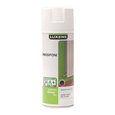 Smalto spray Termosifoni Luxens Bianco satinato 0,4 L