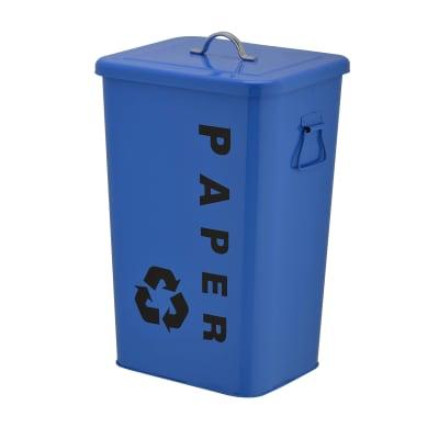Pattumiera Dustbin 26 L blu
