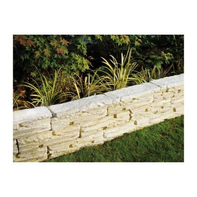 Copertina per muretto gironda in pietra ricostruita prezzi e offerte online leroy merlin - Leroy merlin fontane per giardino ...