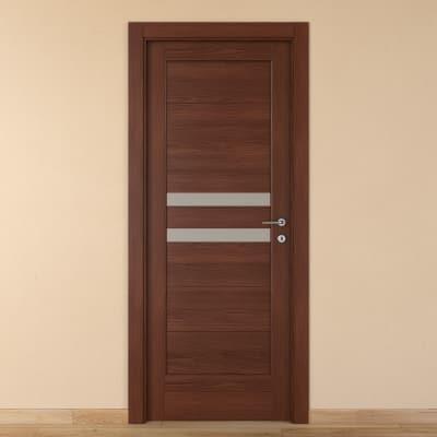 Porta da interno battente Malawi 1 70 x H 210 cm sx