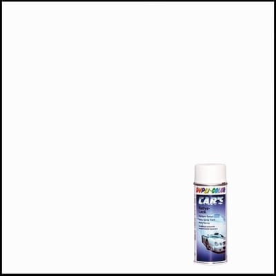 Smalto spray Cars bianco opaco 400 ml