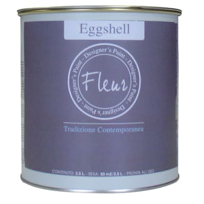 Smalto manounica Fleur Eggshell all'acqua james taupe satinato 0.75 L