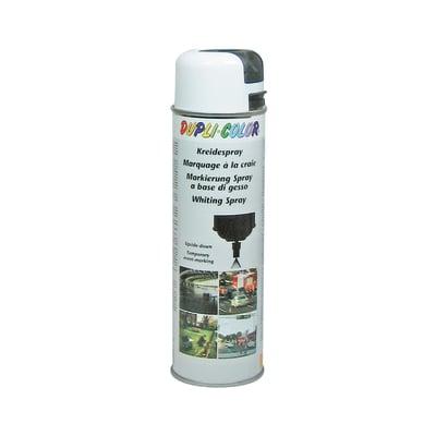 Smalto spray a solvente bianco effetto gesso 500 ml