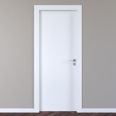Porta per hotel battente Radisson white bianco 80 x H 210 cm sx