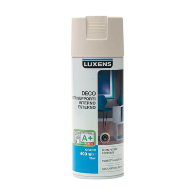 Smalto spray Deco Luxens Grigio Dorato 6 opaco 400 ml