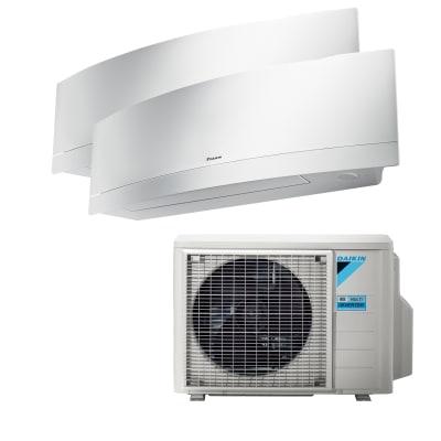 Climatizzatore fisso inverter dualsplit Dual Emura 9+12 2MXM40M/FTXJ25MW+FTXJ35MW