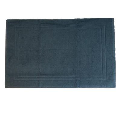 Tappeto bagno Eponge blu