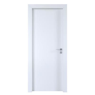 Porta per hotel battente Radisson white bianco 90 x H 210 cm sx